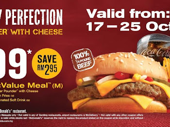 ‎5 simple steps to enjoy a Quarter Pounder with Cheese McValue Meal (M) at only RM6.99 today!