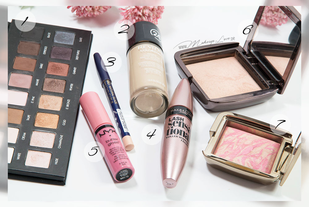 Essentials Favorites Favoriten Valentinstag Makeup