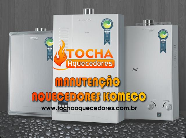 Manutenção Aquecedores Komeco, São Paulo, Santo André, São Caetano do Sul, Mauá, São Bernardo do Campo, Osasco, Morumbi,