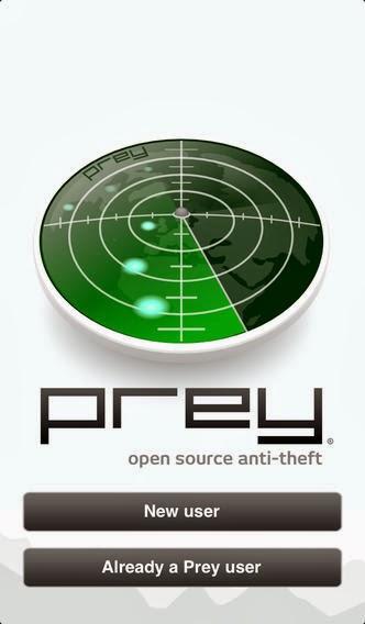 تطبيق مجاني لحماية وإستعادة جهازك المسروق أو المفقود للأندرويد وأي او إس Prey Anti Theft 0.5.9