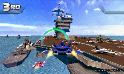 3DS Sonic All Stars Racing Transformed Screenshot