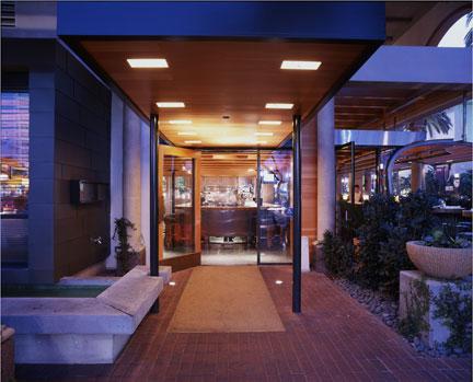 Cafe R & D, Newport Beach, California, USA