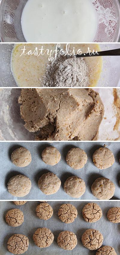 гречневые печенья