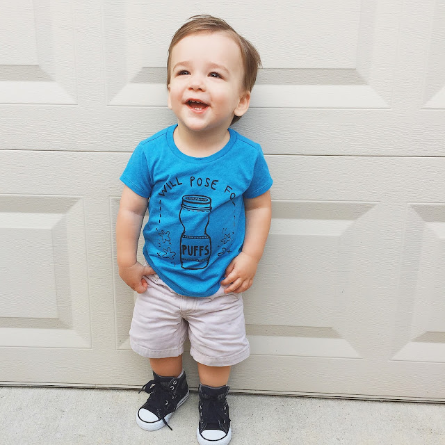 Little Arrow Co WIll Pose For Puffs Graphic Tee