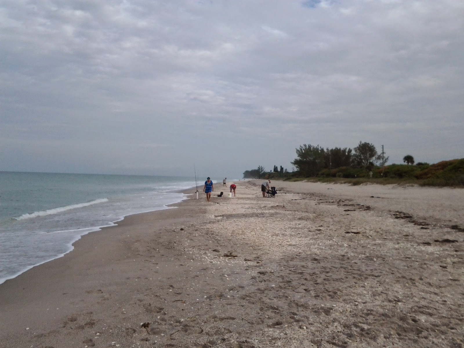 Manasota Key beach facing north