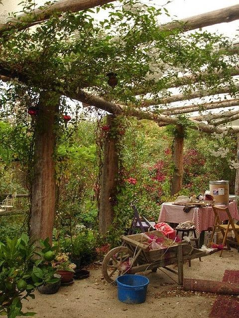 Backyard Gathering Spots Dreaming Gardens