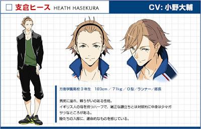 Daisuke Ono sebagai Heath Hasekura
