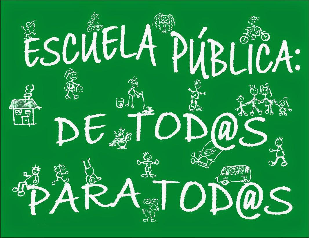 Con la Escuela Pública