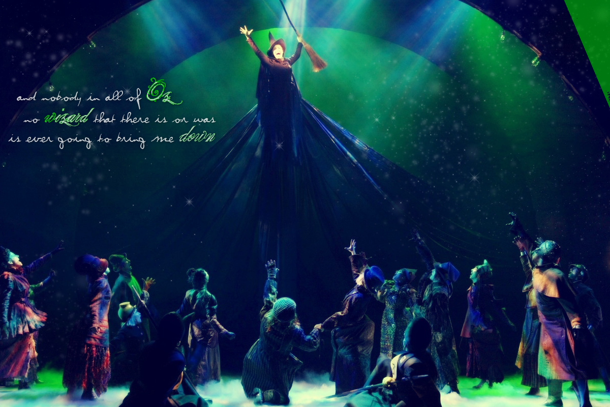 wicked broadway quotes quotesgram. Black Bedroom Furniture Sets. Home Design Ideas