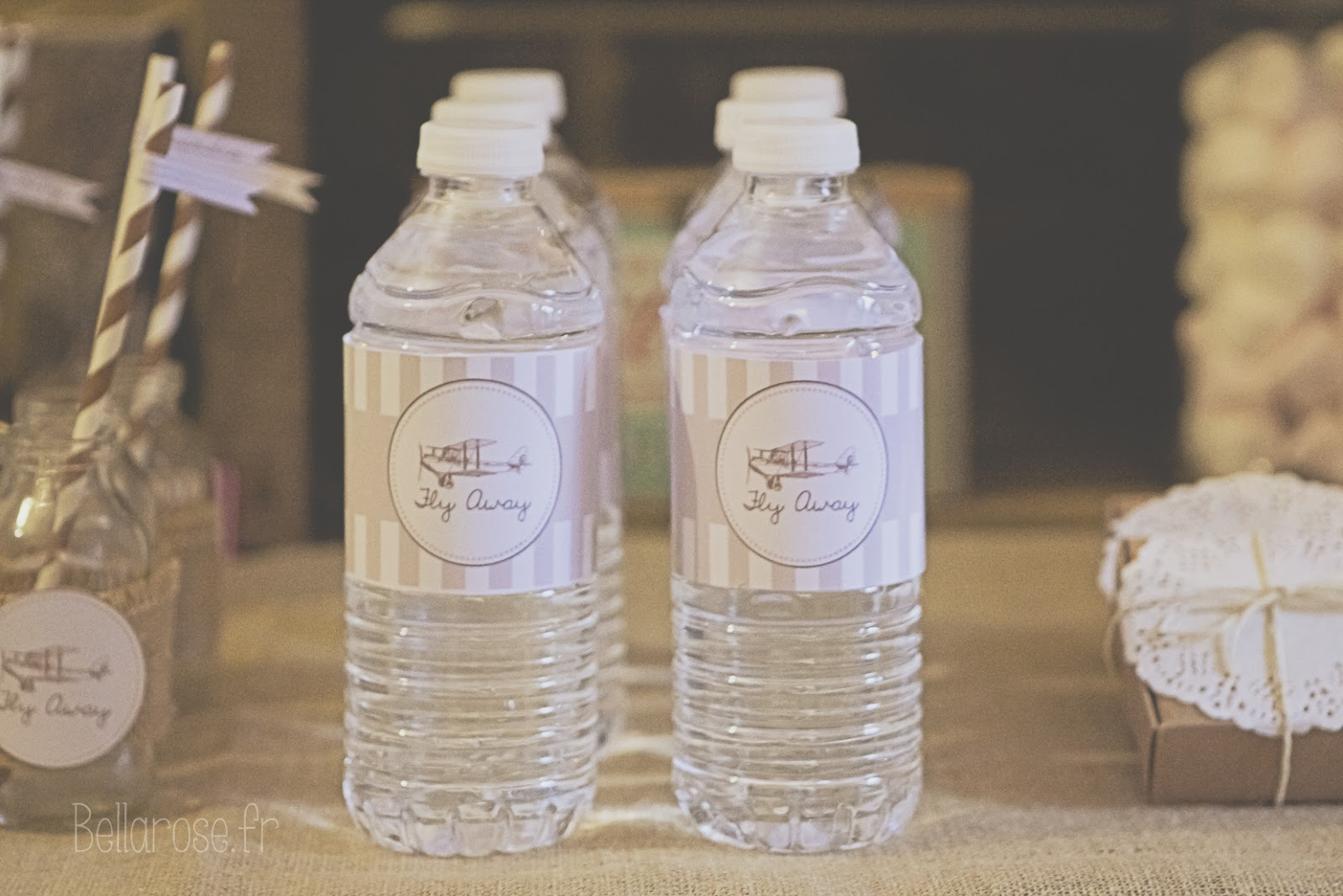 bouteille customisée
