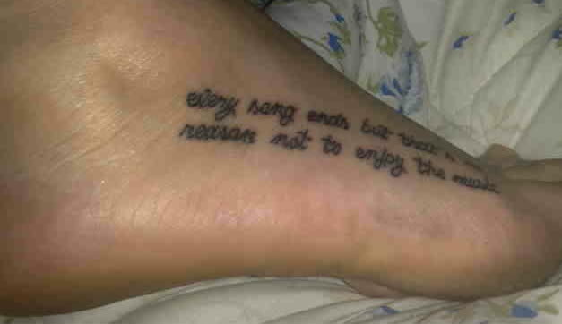 Tattoo Quotes On Life