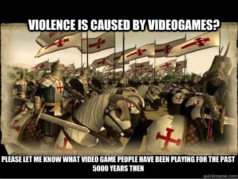 Research paper, video games, a cause of violence and aggression