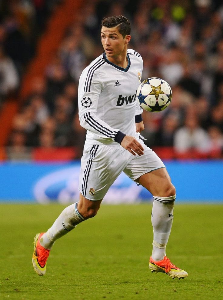 Cristiano Ronaldo, Real Madrid.