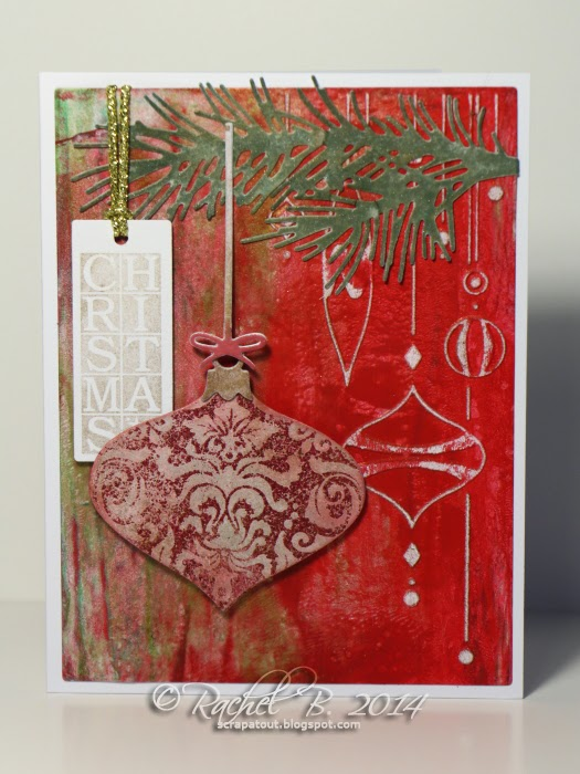 Impression Obsession Card Christmas