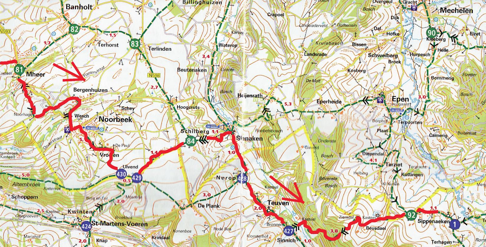 Netherlands Bikeways Lomas de Limburg Day 1