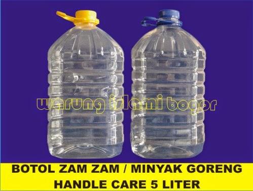 Jual Botol Jerigen Kemasan Ukuran 5 Liter
