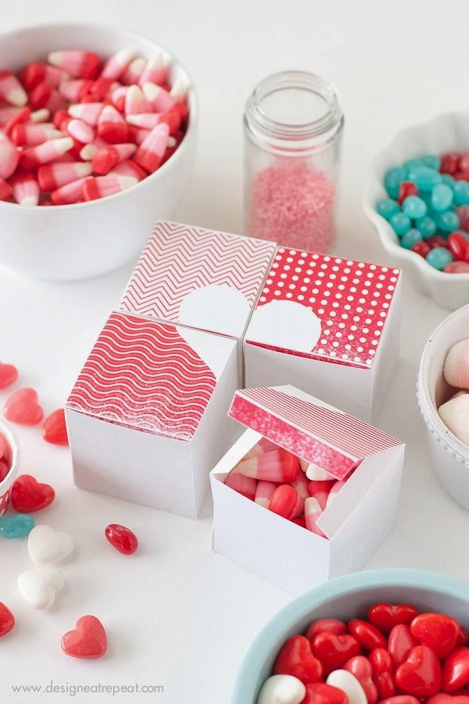 DIY Corazón caja