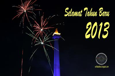 foto kembang api tahun baru 2013