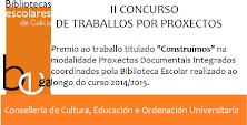 Premio II Concurso Traballo por Proxectos