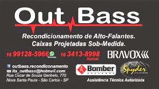 OUT BASS - SÃO CARLOS/SP