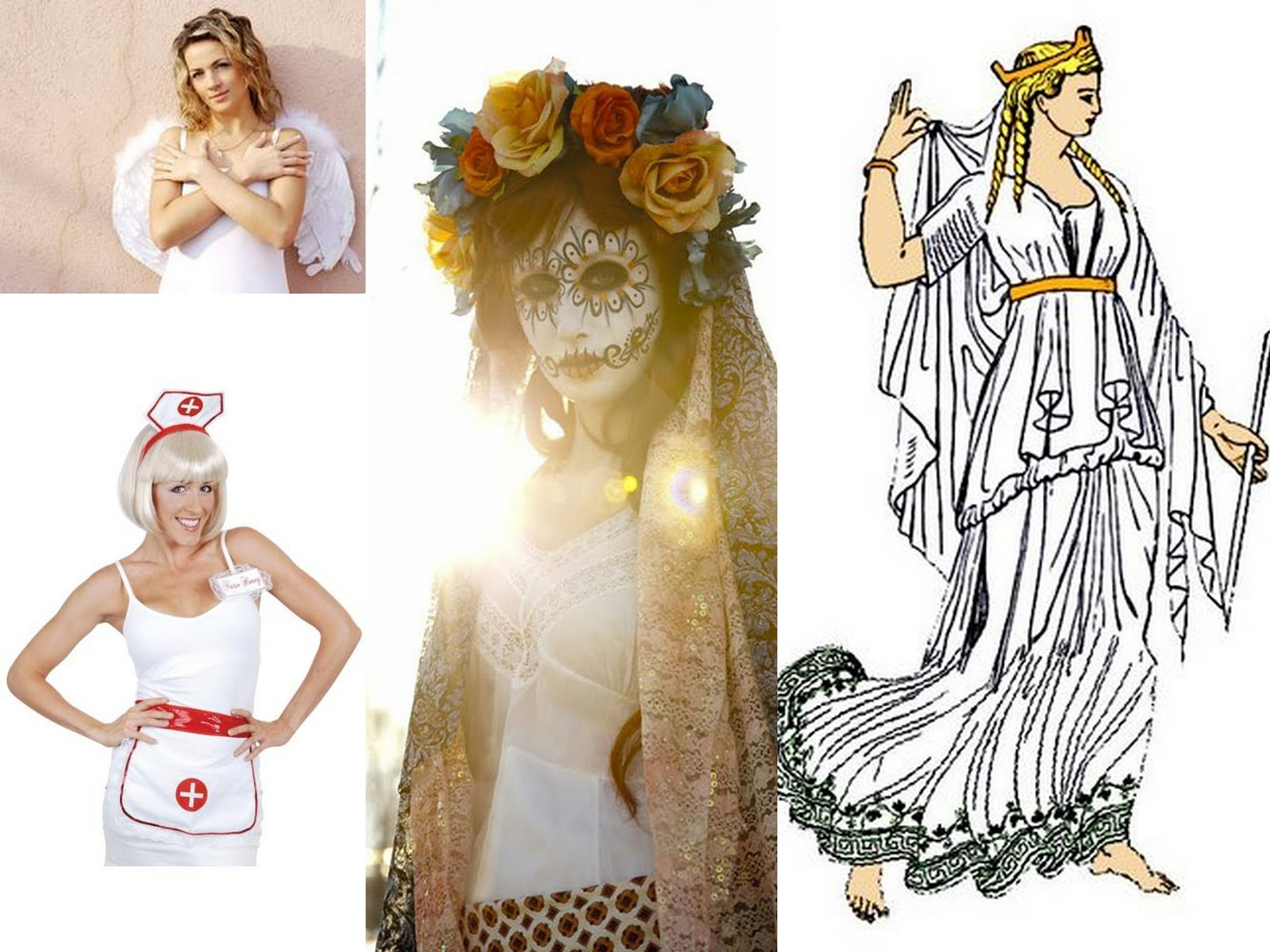 Dress up ideas in white