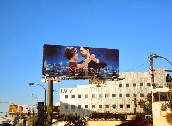 Winters Tale movie billboard