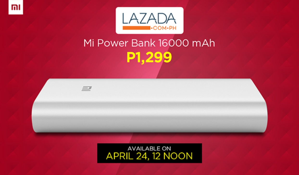 16,000mAh Mi Powerbank: Philippine Price and Availability