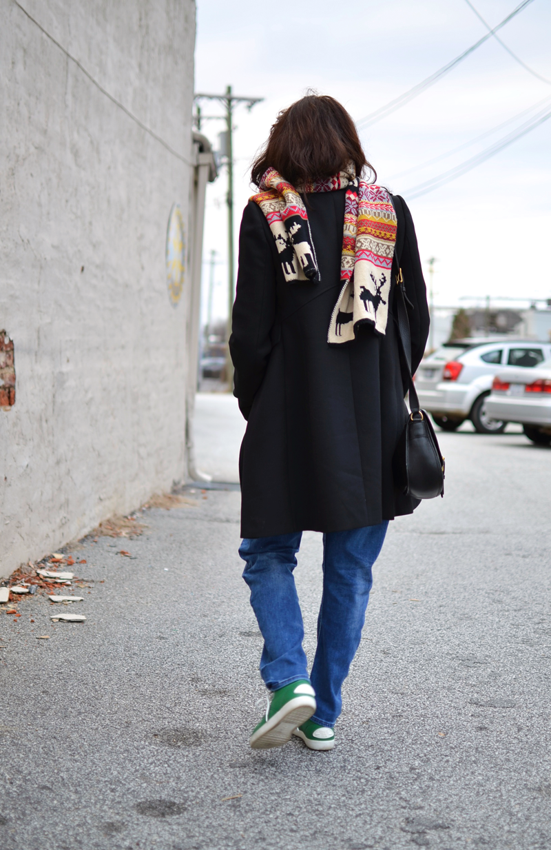Outfit with Fair Isle