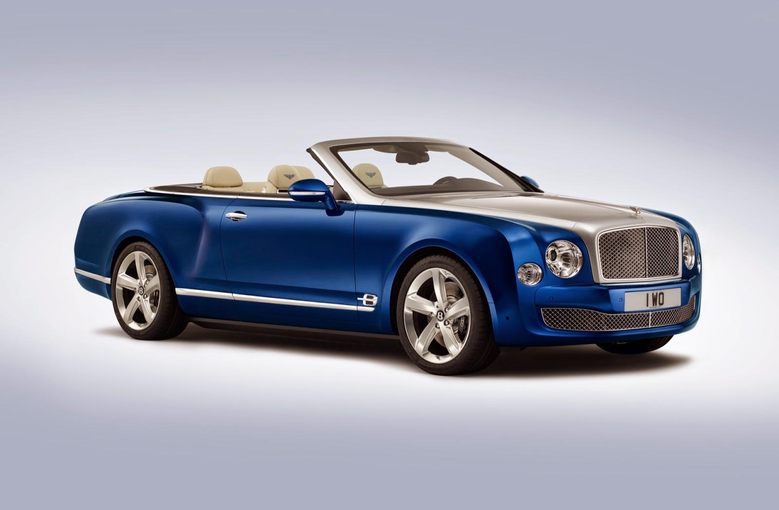 Bentley Mulsanne Grand Convertible