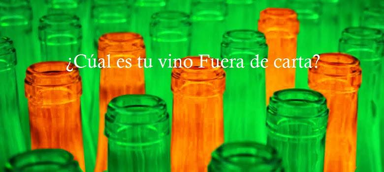 ¿Tienes un vino Fuera de carta? ¿Quieres compartirlo con nosotros?
