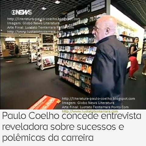 Paulo Coelho em passeio a luxuosa livraria, no centro comercial de Genebra, na Suíça, durante as filmagens da entrevista concedida ao programa Globo News Literatura