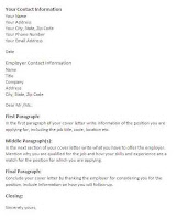 Download Free Sample of Cover Letter Layout For Your Cover Letter