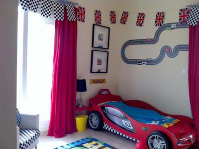 Djecja soba s auto motivima