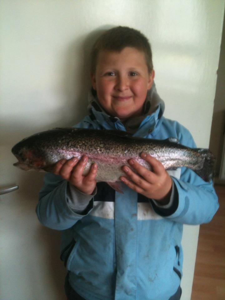 Fish of the month august entry powerbait trout for Trout fishing with powerbait