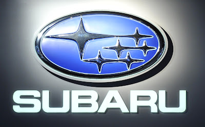 subaru logo displayed at 2011 naias detroit