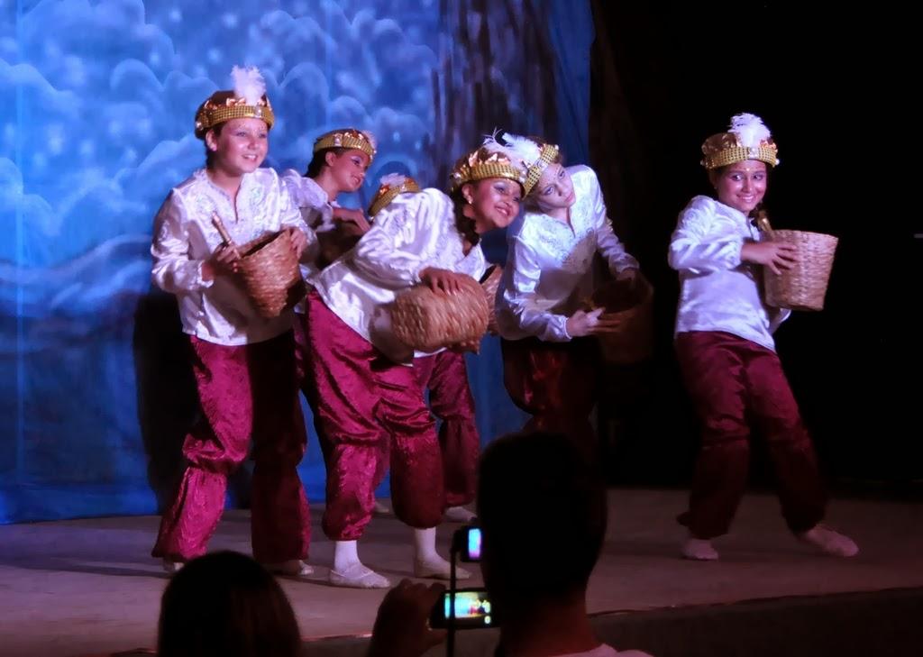 Alunas mais jovens da Cia Dançarte também participaram