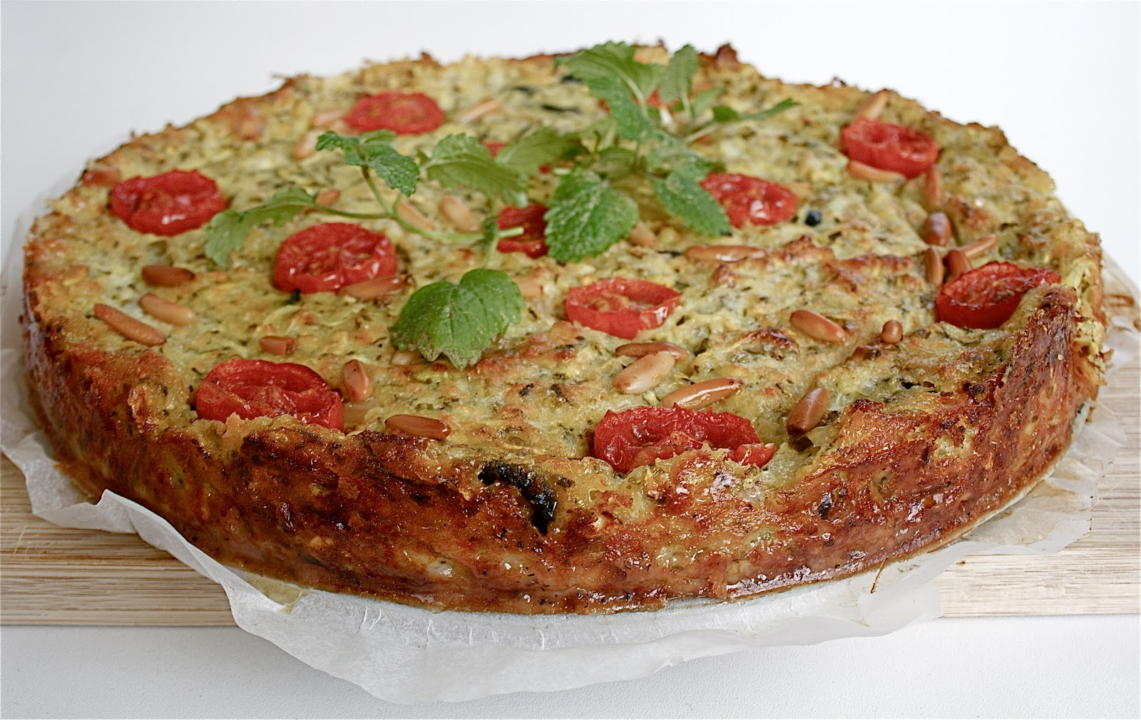 Sommerküche Voller Sonne Und Aroma : Zucchinipudding mit pinienkernen und oliven feines gemüse