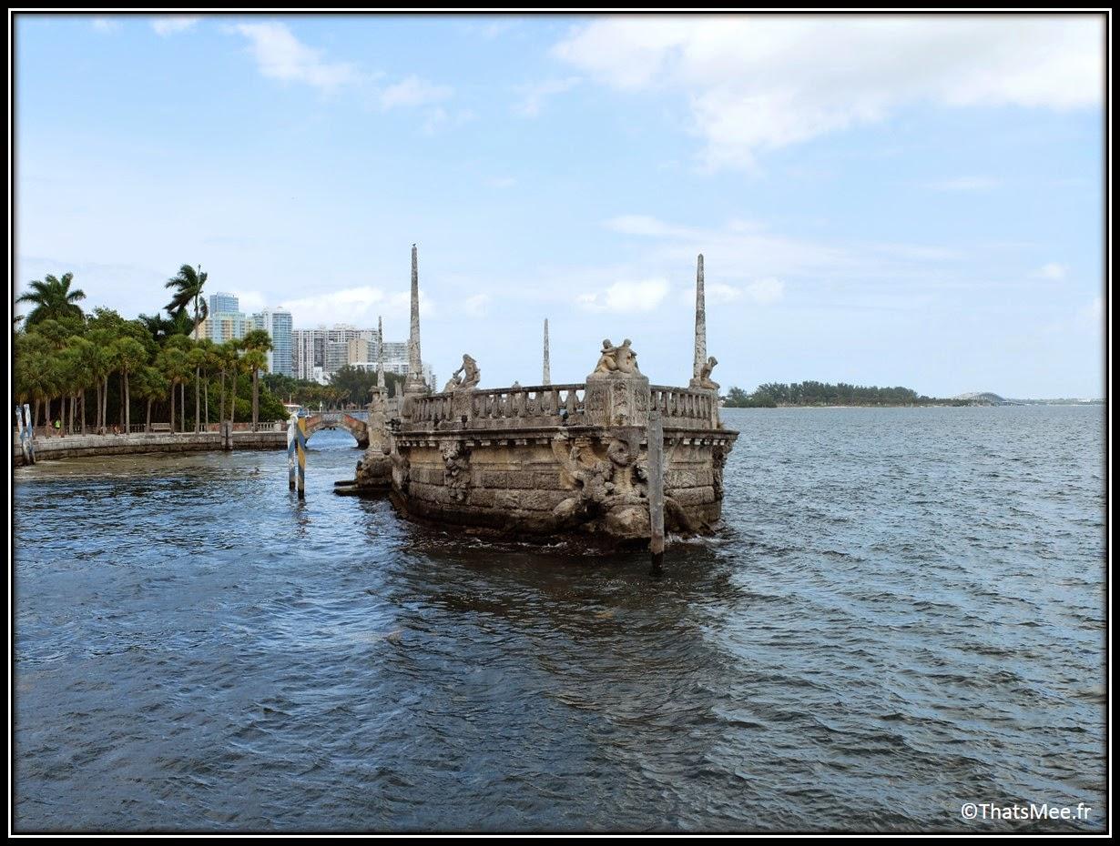 baie villa Musée jardins Vizcaya Miami museum and gardens James deering art villa Floride