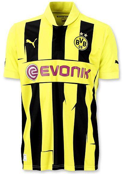 Alguien tiene este estampado - camiseta del borussia dortmund para la champions league PS3