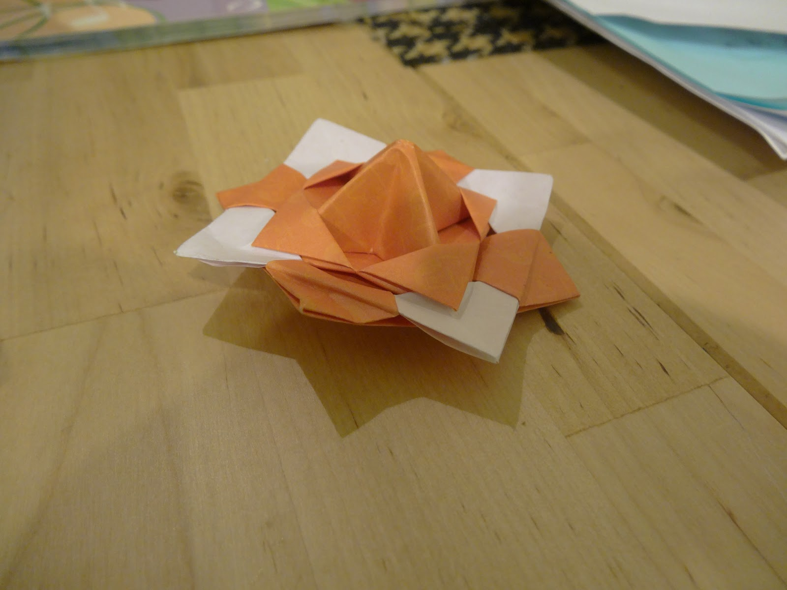 Tales from the beautiful isle a taiwan blog rainy day in the centre had the obligatory childrens sheet of paper to collect stamps on as we toured around the various exhibits with an origami spinning top as a jeuxipadfo Images
