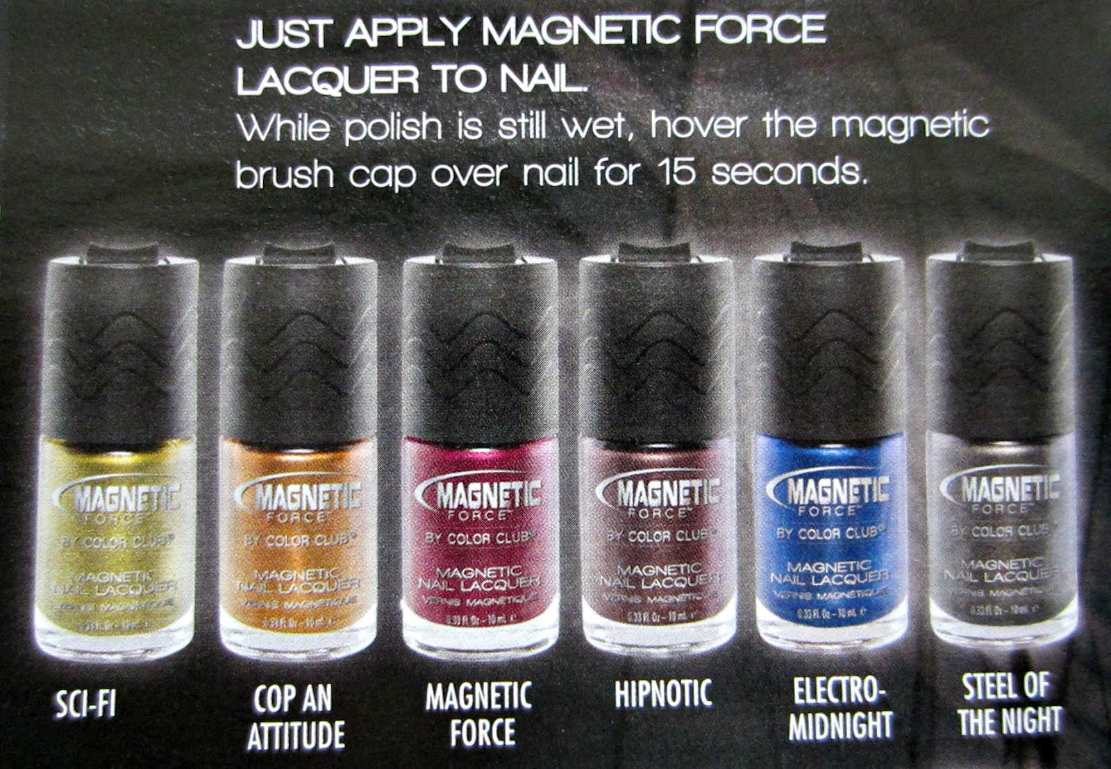Color Club Magnetic Force: Coming February 2012 | Body & Soul