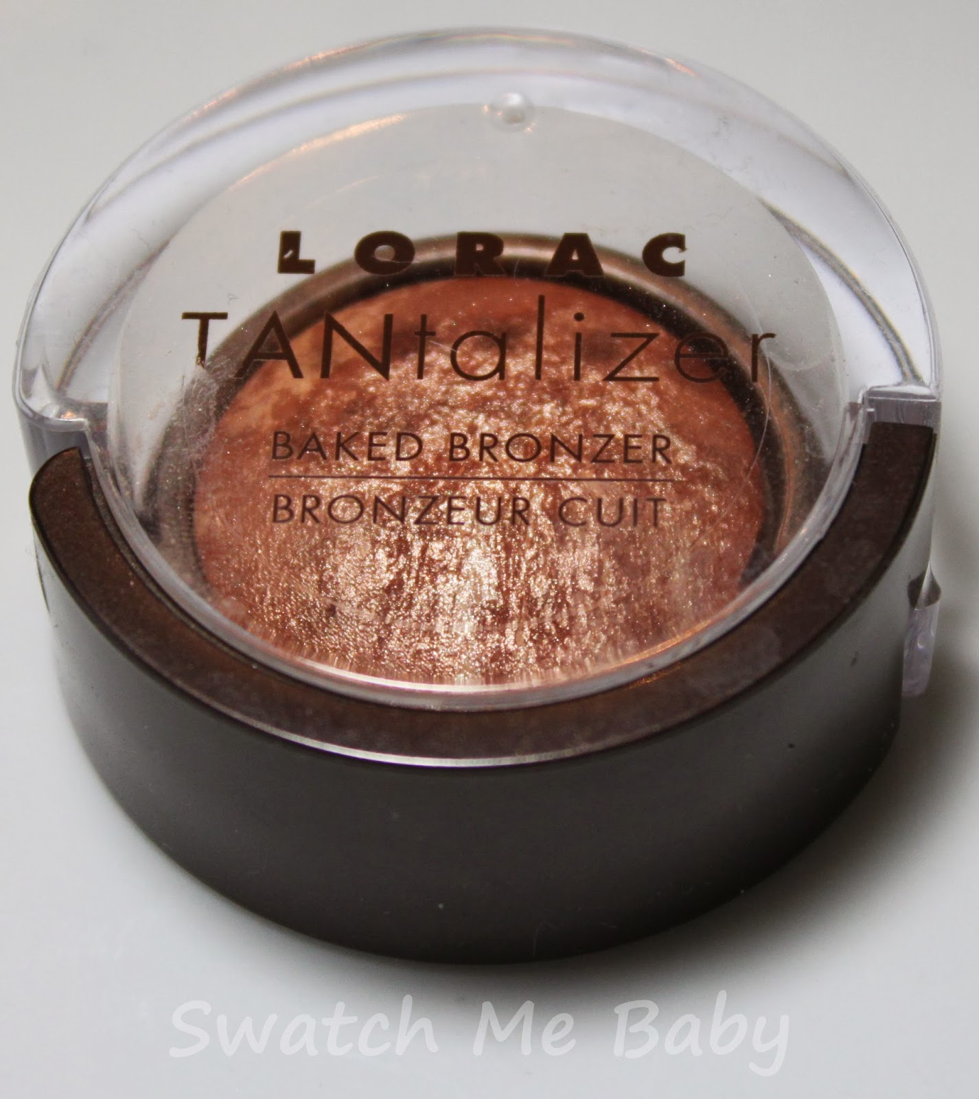 LORAC Travel-Size Tantalizer Baked Bronzer