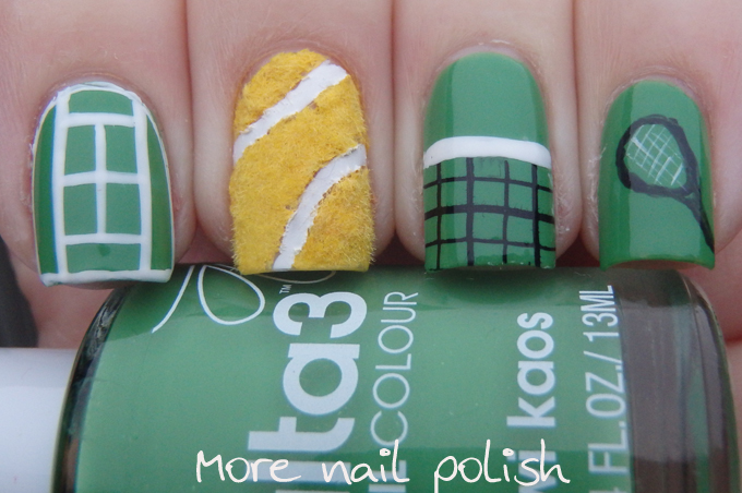 Anyone for tennis more nail polish prinsesfo Choice Image