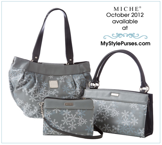 Order the Miche October 2012 Shells - Snowflake Shells