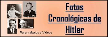Fotos Cronológicas de Hitler