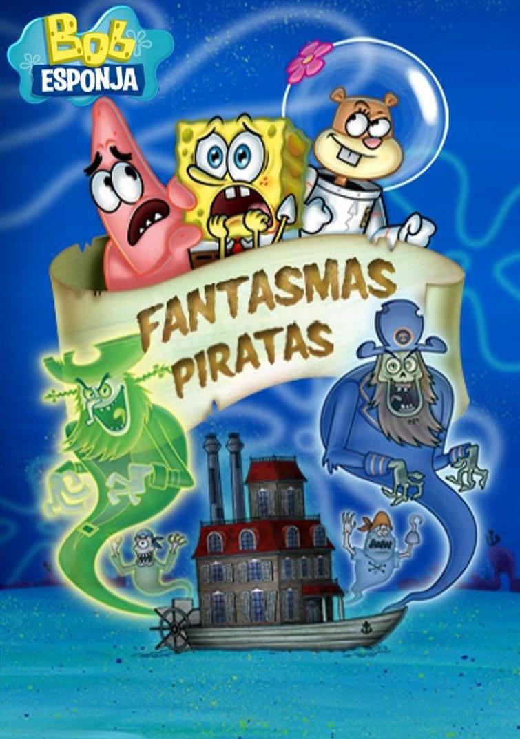Bob Esponja: Fantasmas Piratas DVDRip XviD & RMVB Dublado