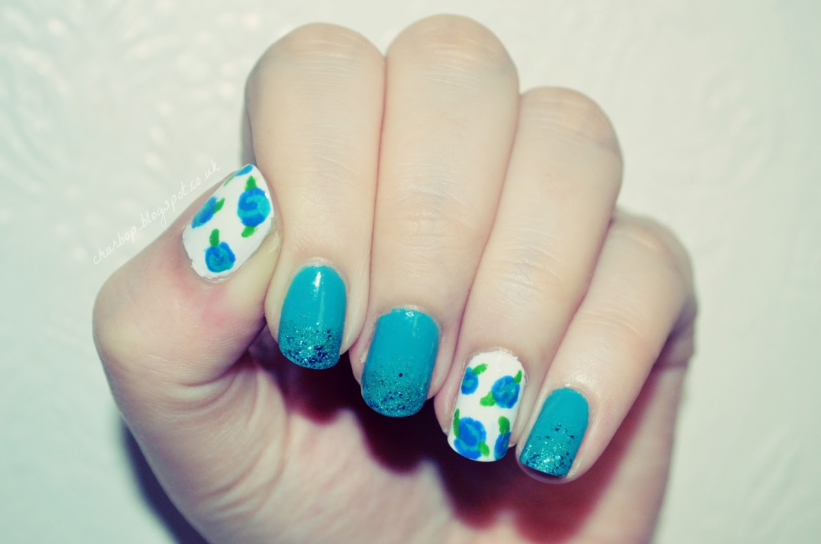 Where is my mind roses are blue vintage rose nail art part 1 roses are blue vintage rose nail art part 1 prinsesfo Gallery