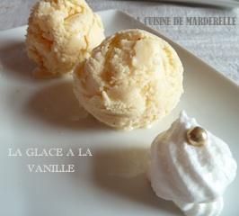 glace à la vanille recette