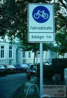 Fahrradstraße Bornstraße