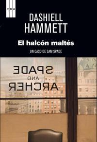Portada de El halcón maltés de Hammett epub y pdf gratis